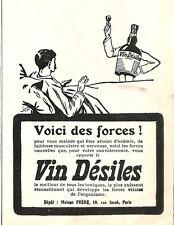 PARIS MAISON FRERE VIN DESILES PUBLICITE 1932
