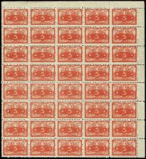 Scott # O2 - 1920 - ' Numerals of Value ' - Block of 40