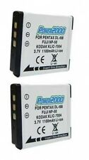 2 KLIC-7004 Batteries for Kodak M1033 M1093 M2008 V1073 V1233 V1253 V1273 Zi8