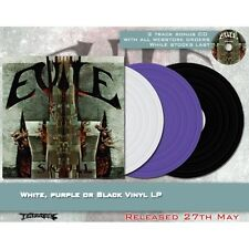 "Evile ""Skull"" White Vinyl LP - NEW Limited to 200 copies!"
