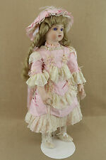 "27"" antique reproduction French Bru Jne Doll ANITA by Patricia Loveless w Box"