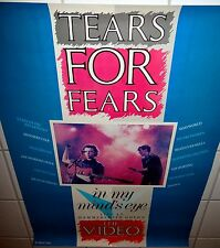 "TEARS FOR FEARS • Promo Poster • ""In My Mind's Eye – THE VIDEO"" • Hammersmith"