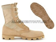 Military COMBAT JUNGLE BOOTS Panama SPEEDLACE Hot Weather Desert Tan NEW 14 XW