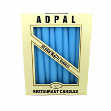 21cm Tall Table Candles Non Drip Tapered End for Dinner Wedding Christmas 6.5h