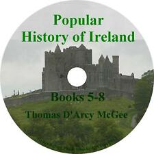 Popular History of Ireland, Books 5-8 Thomas D'Arcy McGee Audiobooks on 1 MP3 CD