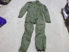 US Army Nomex CVC Combat Crewmen Coveralls Size S-Reg