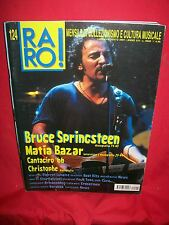 RARO 124 BRUCE SPRINGSTEEN Matia Bazar Christophe Pierrot Lunaire The Cure