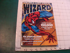 vintage 1996 PRICE GUIDE ANNUAL WIZARD, jon warren, 288 pages