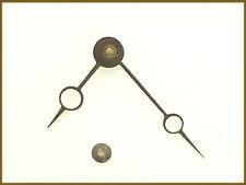 pair d'aiguilles Breguet pour horloge ancienne / pendule de Paris