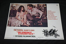 1968 In Enemy Country Lobby Card 68/203 #3 Tony Franciosa Tom Bell (C-5)