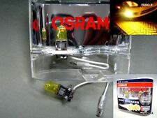 100% Original Osram Fog Breaker 2600K 55W H3 Yellow Globes Headlight Bulbs