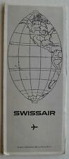 Swissair Systems Map 1966