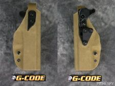NEW G-CODE XST RTI GLOCK 17 22 LEVEL II RETENTION TACTICAL FUZZ COYOTE HOLSTER
