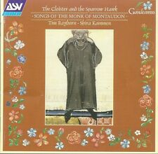 Monk of Montaudon: The Closter and the Sparrow Hawk. 12th century songs.