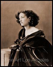 """Felix Nadar Photo, """"Sara Bernhardt"""" 1866, actress"""
