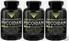 3X120 Capsules Absonutrix Fucoidan Pure Brown Sea Weed Extract 500mg Immune