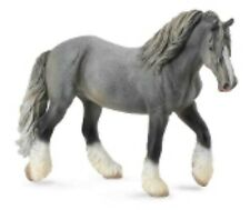 CollectA #88574 Grey Shire Horse Mare, Toy Model Horse