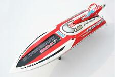 43Mph 30CC Engine Gas G30H Vee Fiber Glass RC Racing Speed Boat Monohull ARTR