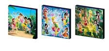 Disney Fairies Set B tela pared arte plaques/pictures Tinkerbell