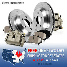 Front OE Brake Calipers Rotors & Pads FORD EXPLORER RANGER MOUNTAINEER MAZDA 2WD