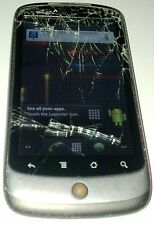 Nexus One - Black (Unlocked) Smartphone - Cracked Glass