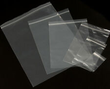 1000 2 Mil 2X4 Zip Reclosable Lock Poly Bag Zipper Clear Plastic Seal Top Bags