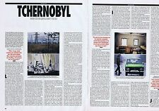 COUPURE DE PRESSE CLIPPING 1991 TCHERNOBYL   (6 pages)
