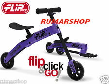 nice price NEW FLIPBIKE FLIP BIKE FOLDING TRAINING BALANCE BIKE KIDS PURPLE