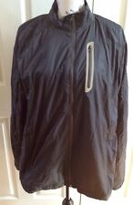 Field & Stream Men's Large Water-Resistant Black Tricot Lined Shell Jacket
