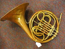 Vintage King by H.N.White Co-Single French Horn in F-Dented but Playable!