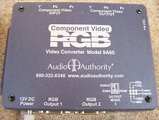 Audio Authority 9A65 - Component Video to VGA/RGB Converter