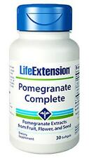 3X $14.44 Life Extension Pomegranate Complete antioxidant prostate heart joint