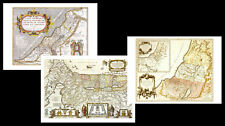 Three Vintage Historic Wall Maps of THE HOLY LAND ISRAEL Premium POSTER Reprints