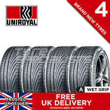"4x NEW 195 45 16 UNIROYAL RAINSPORT 3 84V 195/45R16 (4 TYRES) ""A"" MAX WET GRIP"