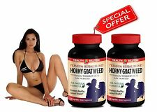 Long Hard Erection - PREMIUM HORNY GOAT WEED SEXUAL VITALITY - L-Arginine 2B