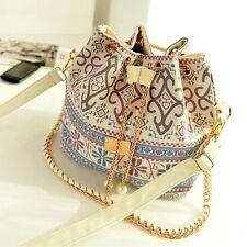 Floral Shoulder Bags Satchel Clutch Women Handbag Tote Purse Messenger Hobo Bag