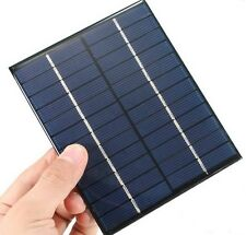 2W 12V 0-160mA Mini Solar Panel DIY powered models Photovoltaic display light