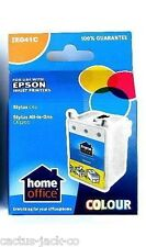 5 X HOME OFFICE BRANDED E041 COLOUR INK CARTRIDGE - USE IN PLACE OF EPSON T041