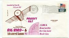 1973 Big Bird-6 Advanced Samos 94 Titan 3D Project 467 Vandenberg AF USA SAT