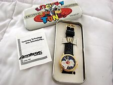 VINTAGE ARMITRON  WATCH LOONEY TUNES SYLVESTER THE CAT 3 D NOS 1994 RARE 2200/79