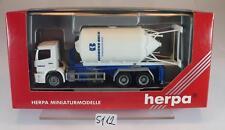 Herpa 1/87 Mercedes Benz Atego LKW 3 Achsen Absetzsilo Normann Bock OVP #5112