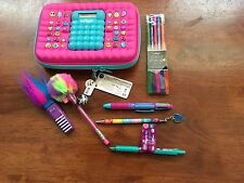 Brand New Smiggle Calculator Hardtop Pencil Case Change Pencils Pens Erasers