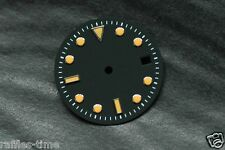 Plain Submariner Sub Watch Dial for ETA 2836  2824 movement Orange Lume