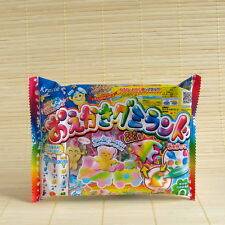 Japan Kracie Popin Cookin mini Oekaki DIY GUMMY KIT Japanese Candy gummies molds