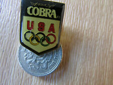 ATLANTA  Olympics 1996  King  COBRA  Original Metal  PIN Badge