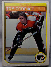 1982-83 O-Pee-Chee Hockey Tom Gorence Flyers lot of 2 Hockey Cards