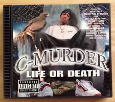 C-Murder: Life Or Death [PA] CD 1998 No Limit Records/EMI Music Canada/Rare/OOP