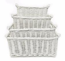 Children Kids Baby Nursery Storage Organiser Decoration Decor Wicker Basket