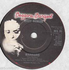 GARY NUMAN Warriors / My Car Slides 45