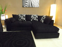 Dylan zina  sofa chenille corner or 3+2